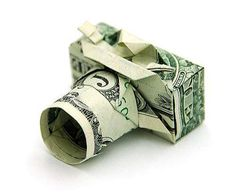 Folded Money Sculptures