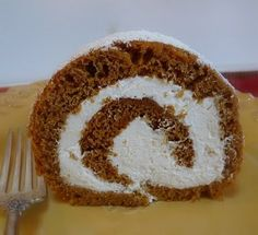 Pumpkin Roulade with Ginger Buttercream | Wives with Knives