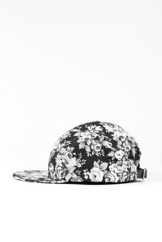 I don't wear baseball caps, but I would definitely wear this one. Floral print makes all the difference.
