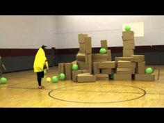 Life Size Angry Birds Game for Youth Ministry