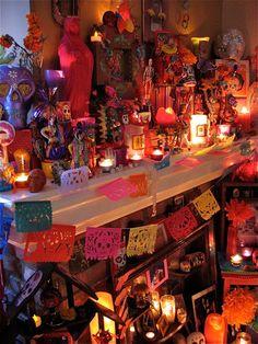 Day of the Dead Altar, Dia De Los Muertos