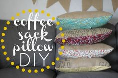 Coffee Sack Sewing Tutorial from Sew Caroline