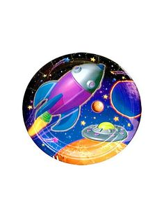Space Dinner Plates