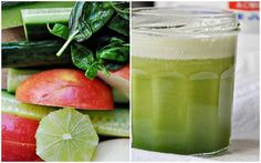 Cucumber, Lime, Basil Juice