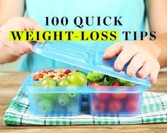 100 Quick Weight-Loss Tips @POPSUGARFitness