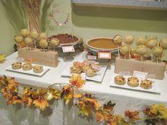 Thanksgiving Pie Buffet #thanksgiving #pie