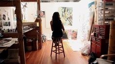 Maja Ruznic - an IN THE MAKE studio visit with the San Francisco painter by In The Make