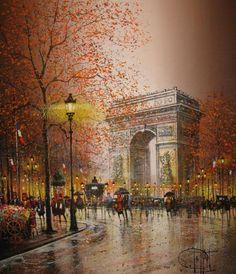 Guy Dessapt 1938 | French impressionist painter