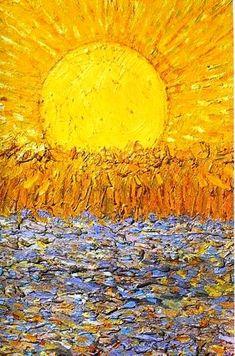 Vincent van Gogh - Le Soleil