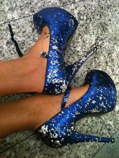 26 Blue Shoes