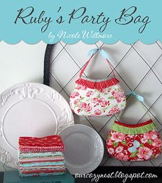 So cute... and a free pattern!