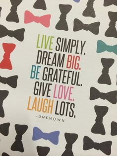 We love this quote