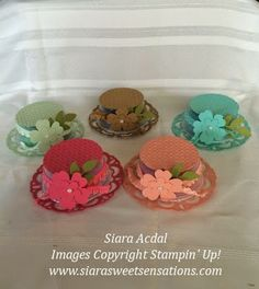 Stampin up Hat Gift Idea