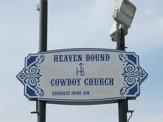 Heaven Bound Cowboy Church, Dodge City, Kansas