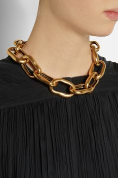 Oscar de la Renta | Gold-plated necklace | NET-A-PORTER.COM