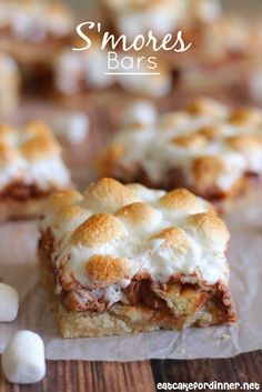 S'mores Bars are all the goodness of a smore without the fire!