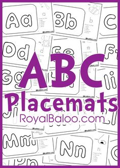 ABC Placemats free download