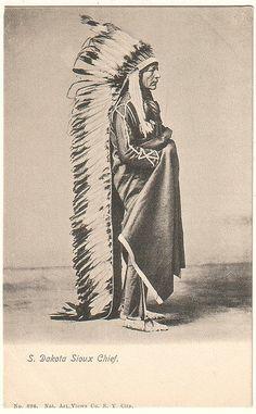 Dakota Sioux Chief circa 1900