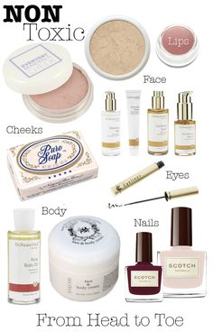 great post on natural makeup products on Moorea Seal's blog. <3