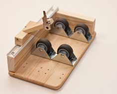 Picture of easy glass bottle cutter made up of common parts