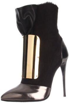 Giuseppe Zanotti Women's Bootie  #Bootie #shoes #highheels #dressheels #blackheels #stiletto #stilettoheels