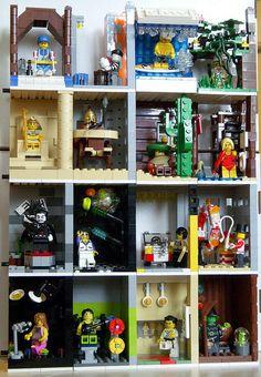 lego minifig scenes