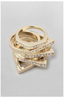 Geometric Stack Ring Set
