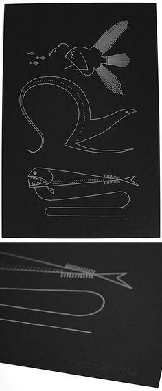 'Ocean Rift' print $40.00