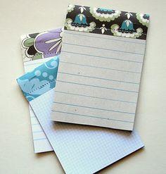 DIY - Mini Journal Notepads - Full Step-by-Step Tutorial.