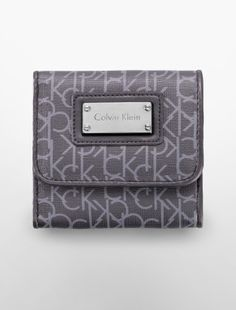 simone framed french purse - Shop by Silhouette- Calvin Klein