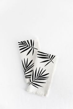 DIY-Palm Leaf Napkin