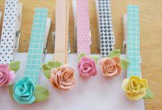 Bread Dough Roses - CreativeMeInspiredYou.com