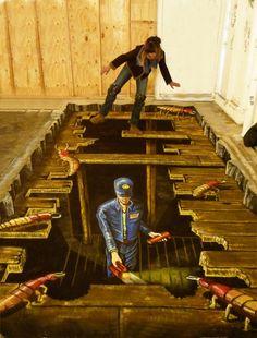 3D Illusions Street Art 14