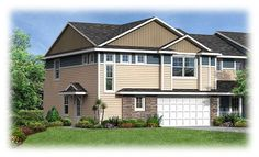 New homes in Eagan, MN - Jefferson Exterior in Nicols Ridge