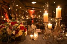 christmas wedding table