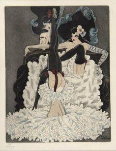 Can-Can Kurt Hilscher, Tänzerinnen, um 1920
