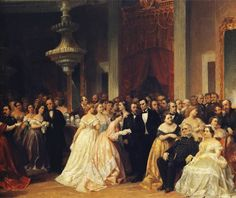Peter Rothermel: The Republican Court in the Days of Lincoln (1867).
