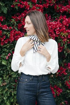 Win It! The Perfect Striped Scarf, as Modeled By Some of Our Favorite Bay Area Friends