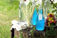 Cherry Tea Cakes: Blue Bubblegum Soda