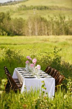 Dining Table Outdoors