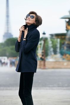 Ines de la Fressange Uniqlo Collection Pictures & Interview (Vogue.com UK)