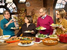 Get the recipes featured on #ThanksgivingLive.