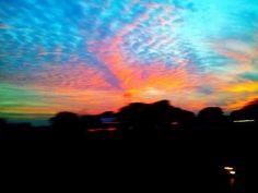 Lubbock Texas sunset