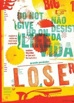 big loser poster by mostarda em po