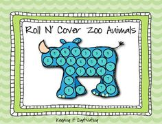 Freebie: Roll N' Cover Addition Zoo Animals