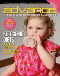 Ketogenic Diets to Control Seizures present Challenges During Swollowing Assements. from ADVANCE for Speech-Language Pathologists and Audiologists. Pinned by SOS Inc. Resources @sostherapy.