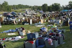 The World's Largest Yard Sale, also known as the Highway 127 Corridor Sale or simply 127 Yard Sale, is an outdoor second-hand sale held annually for four days beginning the first Thursday in August along U.S. Route 127.
