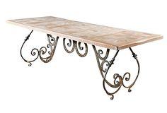 Belmont Dining Table on OneKingsLane.com