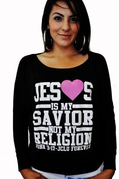 047-SAVIOR DOLMAN SHIRT-Christian T-shirts by JCLU Forever Christian t-shirts want this!!!!!