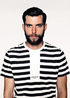 Stone Island Marina Short-sleeve T-Shirt in stripe print cotton jersey